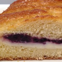 Braided Cream Cheese and Blueberry Bread