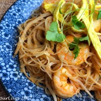 Stir-Fried Laksa Noodles
