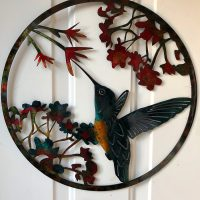 Hummingbird Door Hanger