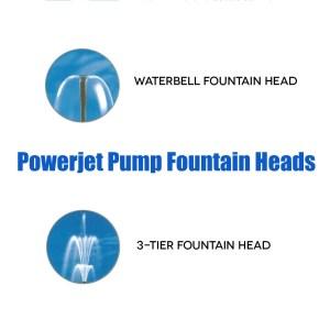 Laguna Powerjet Fountain Heads