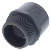 2 inch slip x 2 inch MPT coupler
