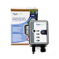 Aquascape photo cell with timer