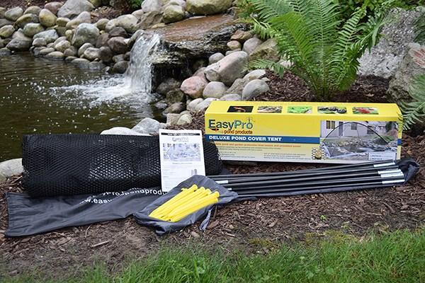 Pond net tent parts