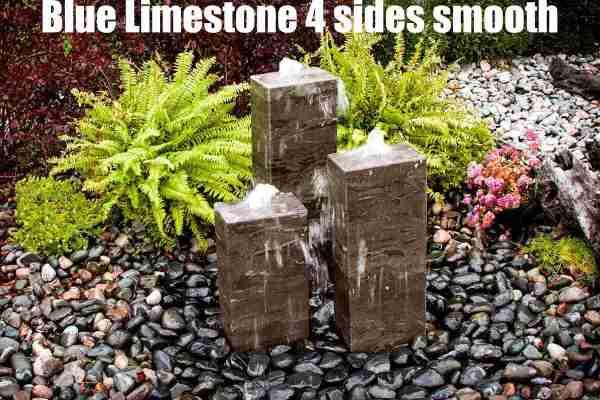 blue limestone 4 sides smooth