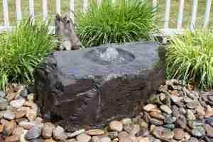 medium birdbath fountain kit