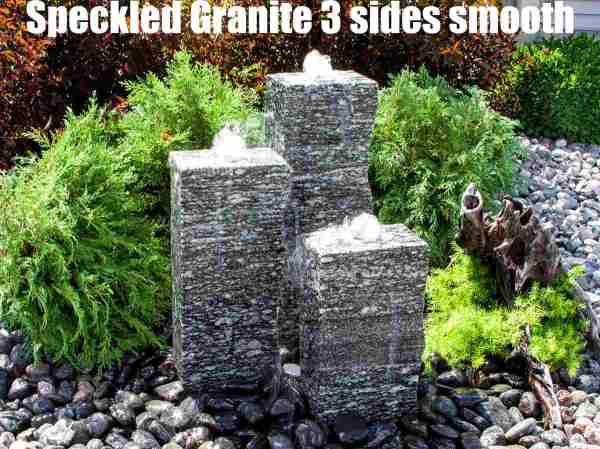 speckled granite 3 sides smooth