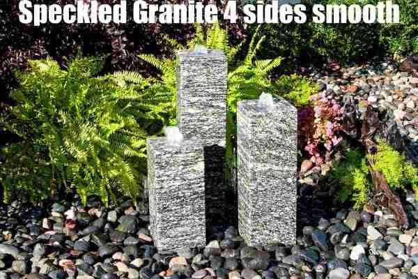 speckled granite 4 sides smooth