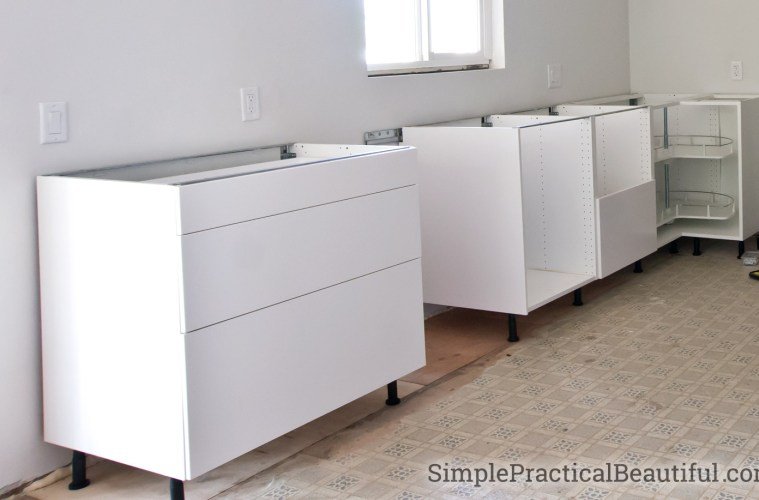 installing kitchen base cabinets how to assemble an ikea sektion base cabinet simple 17906