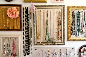 close-up picture of jewelry display