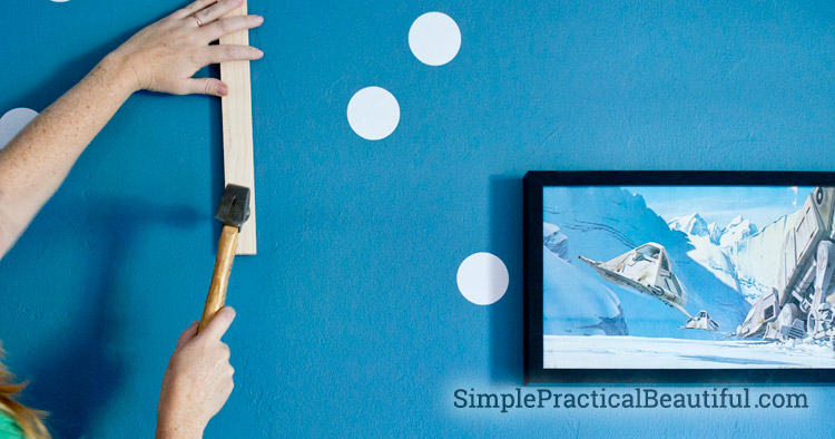 How to hang your picture frames exactly where you want them