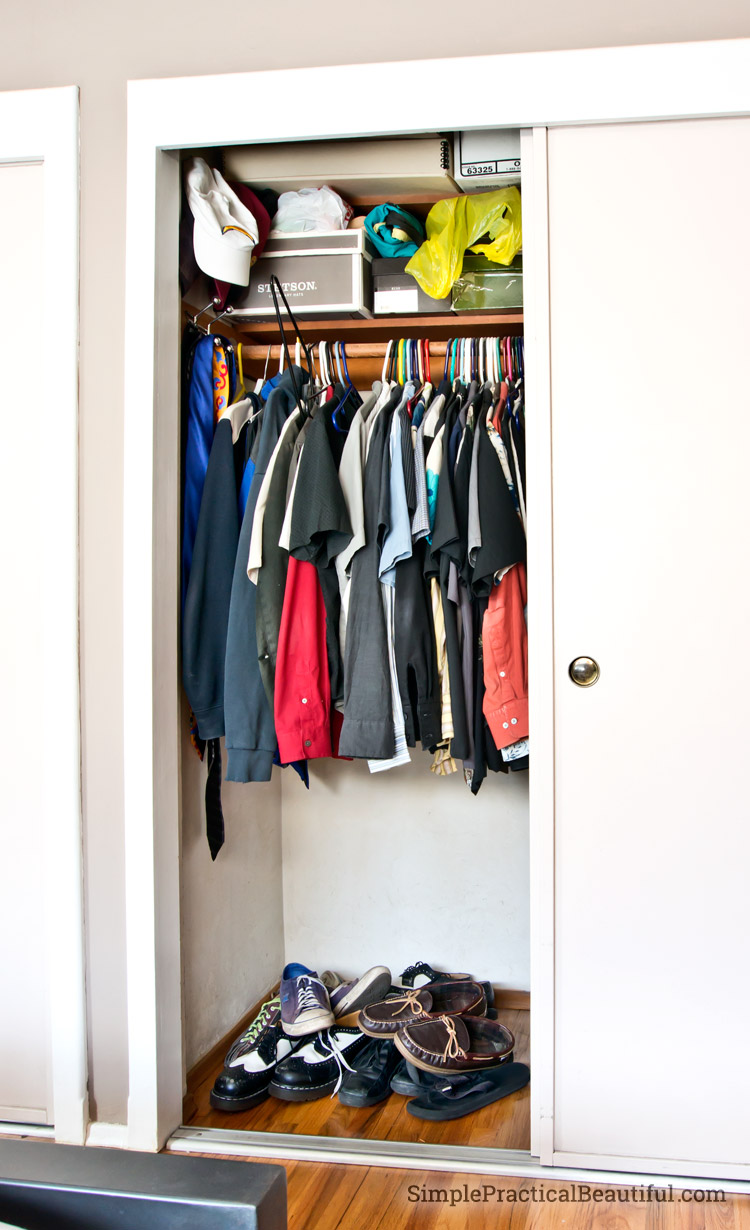 2 Simple Tricks To Organize A Closet Simple Practical Beautiful
