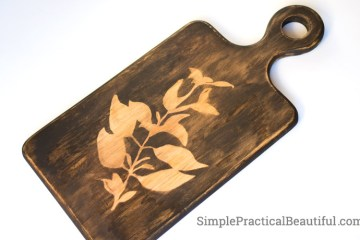 How to update an old cutting board with a new design