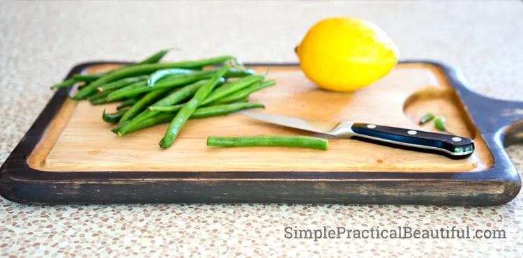 An updated cutting board like new again