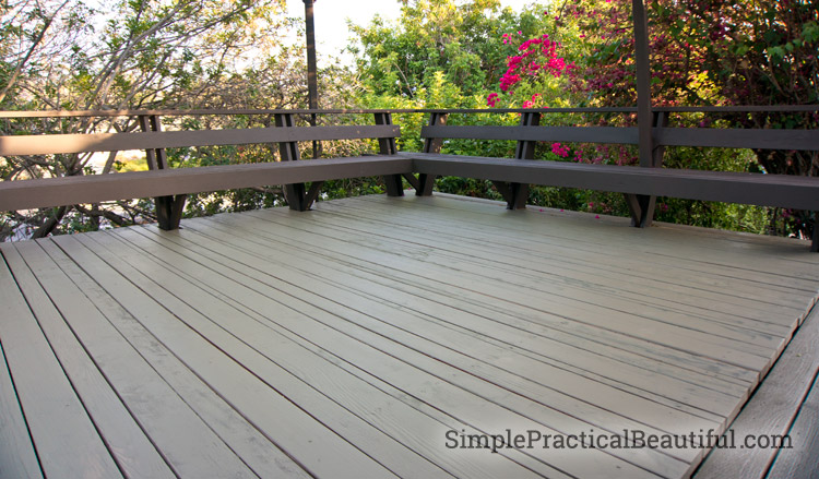 A Wood Deck Needs To Be Well Maintained And Refinished Often. Make That Job