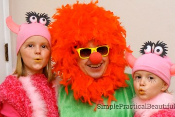 A family costume from the Muppets skit Mahna Mahna