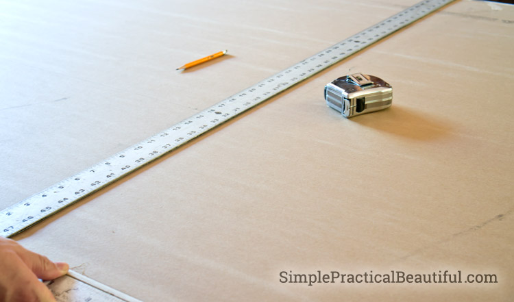 How to measure and install dry wall