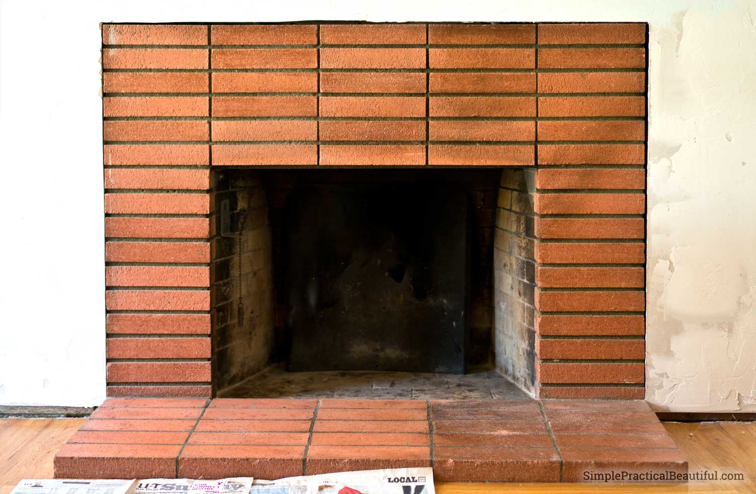 fireplaces clean fireplace video brick videos cleaning diy