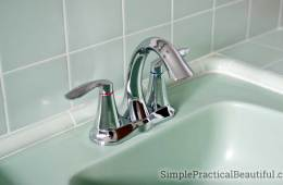 How to Install a Bathroom Faucet | DIY plumbing | replace a faucet | remove an old faucet | Moen