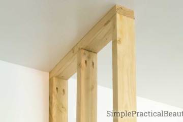 How to frame a wall in place | Building a frame for a wall | home improvement by adding a partition wall | small wall DIY