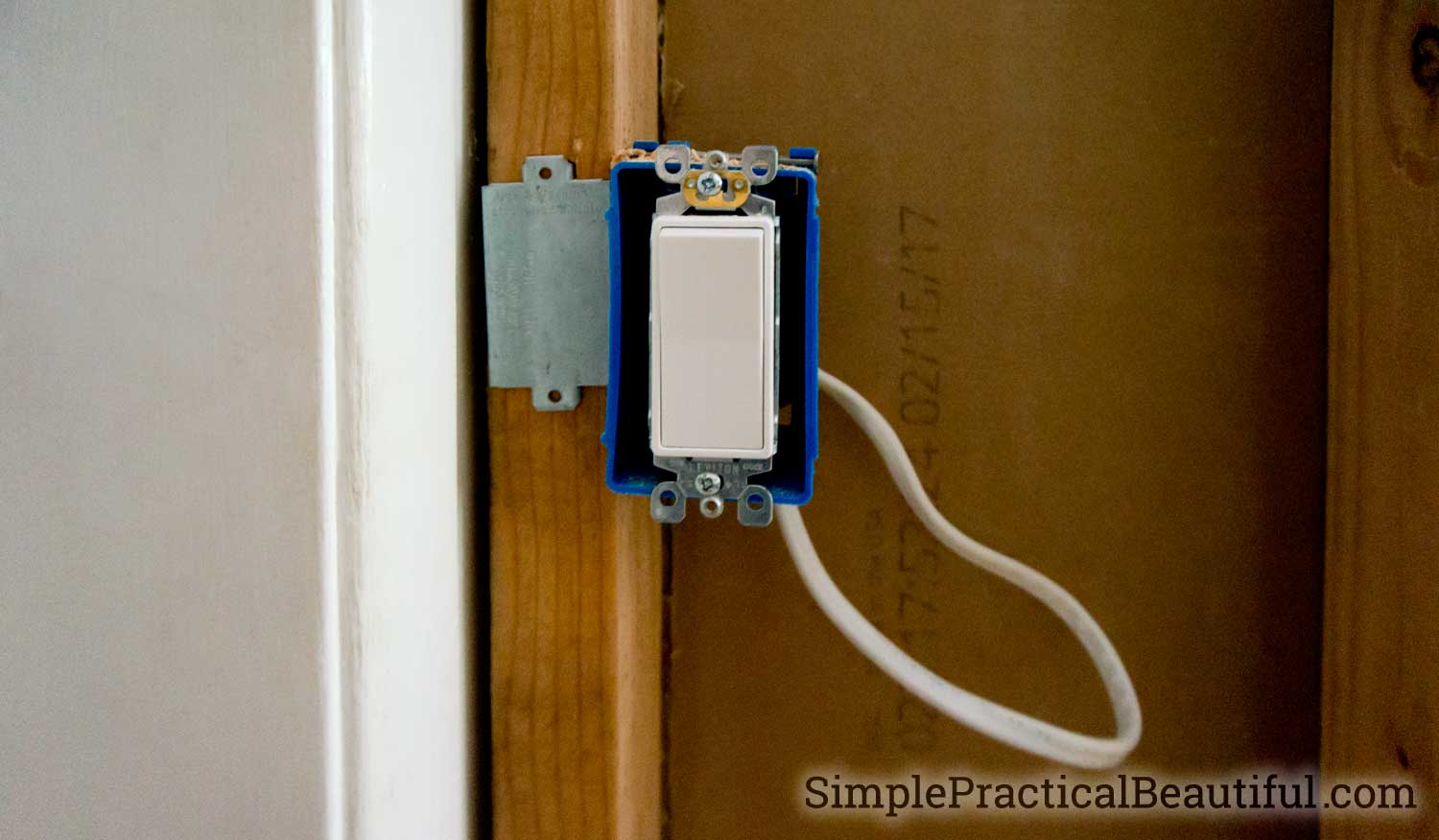 installing-light-switch - Simple Practical Beautiful
