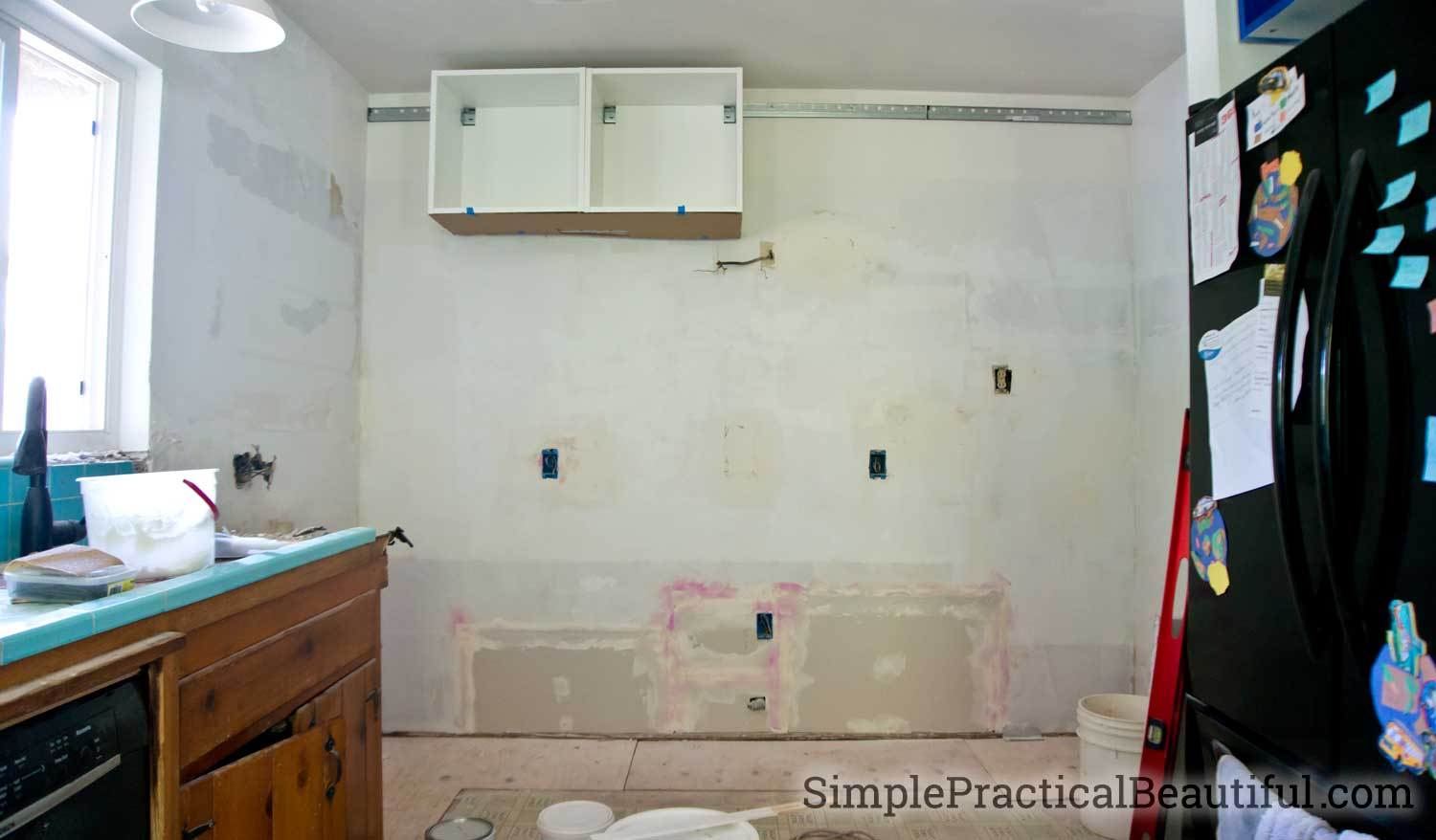 ... Doing A Kitchen Demolition In Phases To Keep A Working Sink