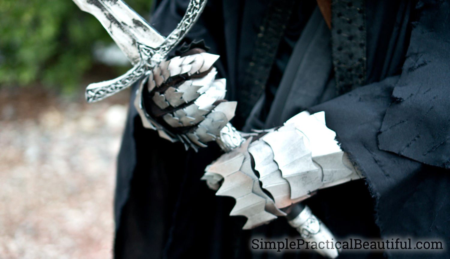 How To Make Foam Gauntlets Simple Practical Beautiful