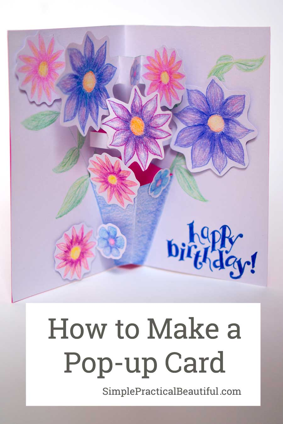 How to make a pop up card inspired by paddington 2 for Pop up birthday cards for mom