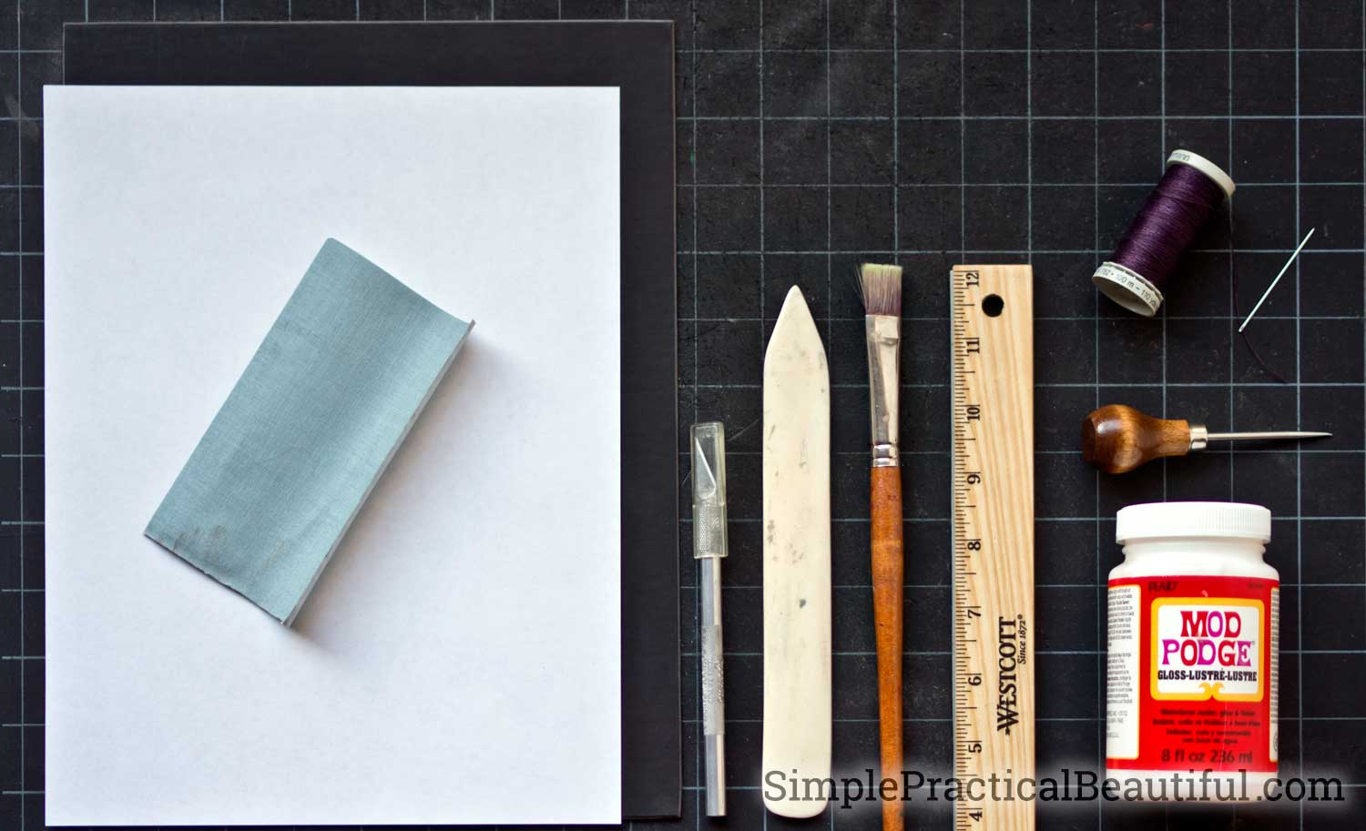 How To Make A Mini Book Necklace Simple Practical Beautiful