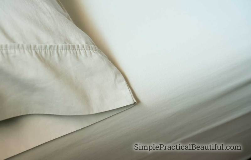 Look for thread count when buying new sheets