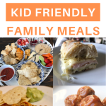 25 easy kid friendly family meals