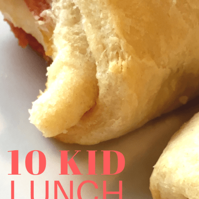 At Home Kids Lunch Ideas