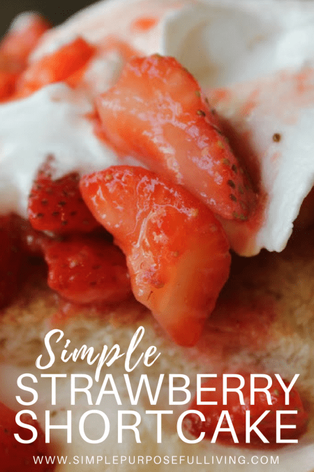 strawberries, whipped cream and biscuit strawberry shortcake recipe