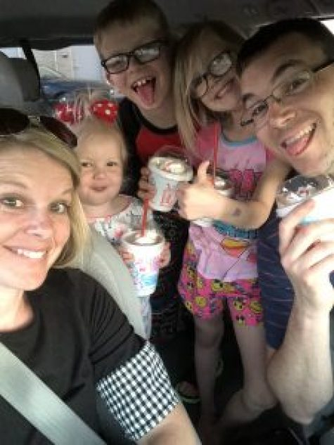 family at sonic