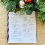 christmas gift idea meal planning journal