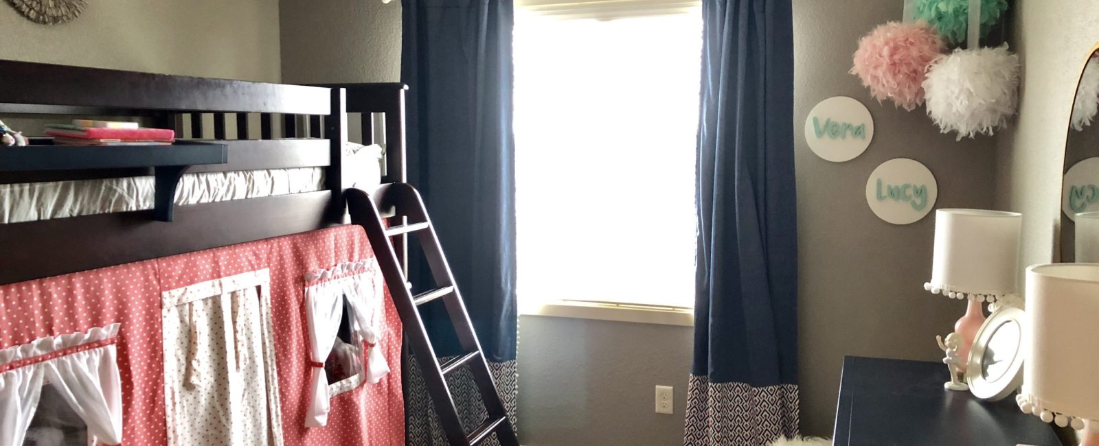 A Shared Girl Bedroom Makeover