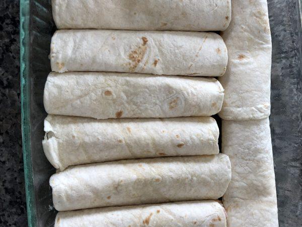 chicken enchilada tortillas