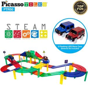 picasso tile race track gift idea for toddlers