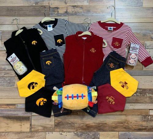 ISU Iowa baby clothing