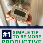 best simple tip to be more produtive pin