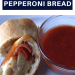 easy 3 ingredient pepperoni bread