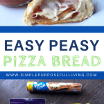 easy peasy pizza bread