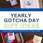 yearly gotcha day gift ideas