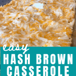 easy hash brown casserole recipe