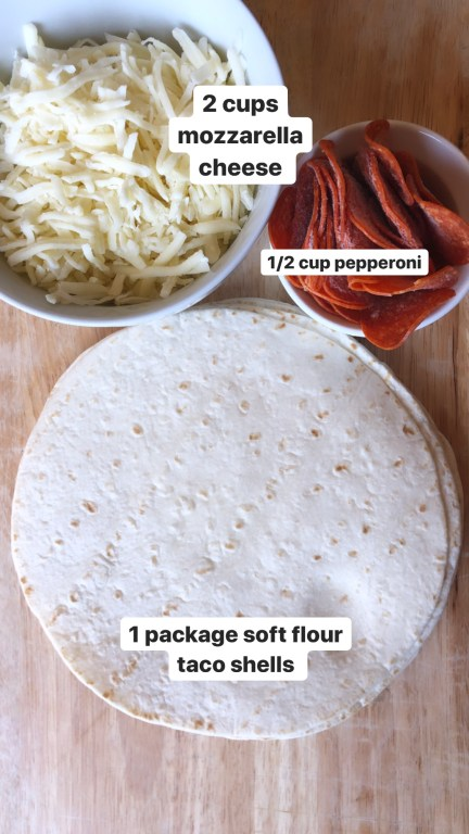 pizzadilla recipe ingredients