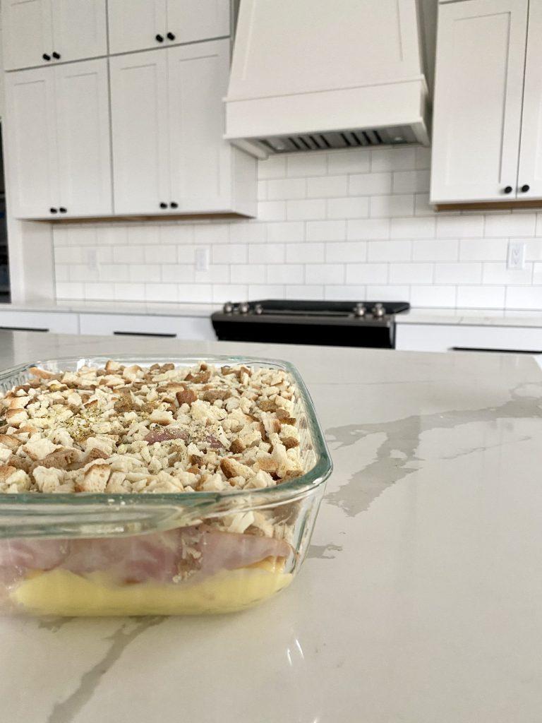 creamy chicken cordon bleu bake recipe