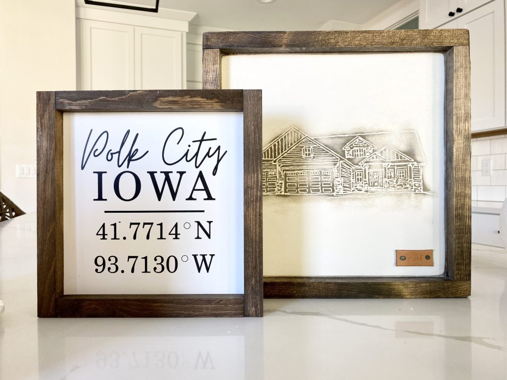 personalized signs housewarming gift ideas