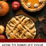 how to simplify your holiday dinner