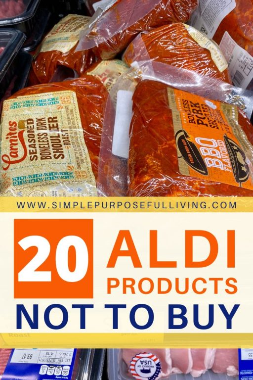 20 ALDI Products not to buy