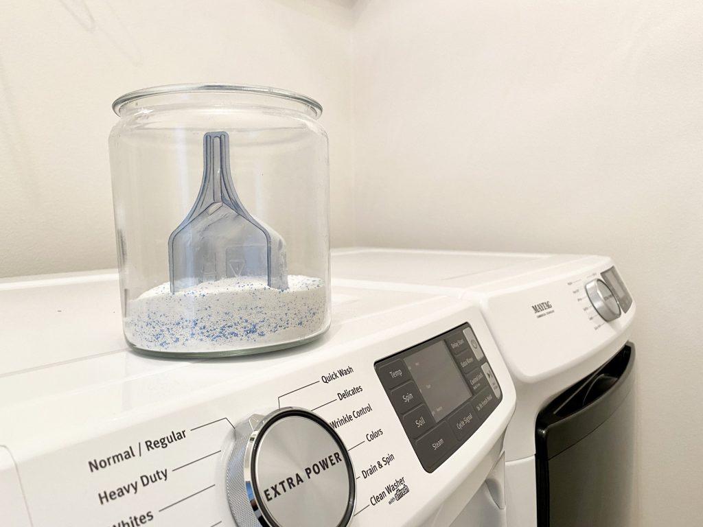 powder laundry detergent remove washer odor