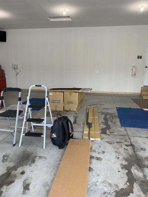 garage organization system installation kitchen and bath company